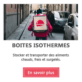 Boite isotherme, thermobox et bac isotherme alimentaire