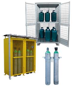 Stockage bouteilles de gaz extérieur