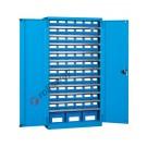 Armoire à outils 1023x555 H 2000 mm avec étagères et conteneurs