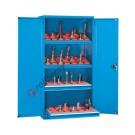 Armoire rangement outils 1023x555 H 2000 mm 2 portes