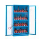 Armoire rangement outils 1023x555 H 2000 mm 2 portes en polycarbonate