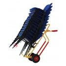 Diable chariot pour colis haut avec roues pleines capacité 250 kg Rambo