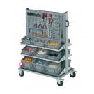 Personnalisez votre chariot porte bac Smart 101-102-103 pour bacs en plastique