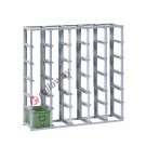 Personnalisez votre étarège empliable H 1300 mm pour bacs en métal
