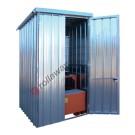 Box de rétention en acier galvanisé 1750 x 1915 x 2730 mm