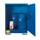 Box de rétention en acier galvanisé peint 1360 x 920 x 1845 mm bac de rétention en acier inoxydable