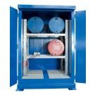 Box de rétention en acier galvanisé peint 2000 x 1550 x 2700 mm avec isolation thermique