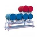 Station de soutirage avec bac de rétention de 268 litres