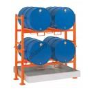 Station de soutirage avec bac de rétention de 270 litres
