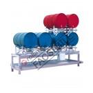 Station de soutirage avec bac de rétention de 400 litres