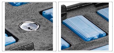Accessoires couvercle pour boite isotherme alimentaire GN 1/1