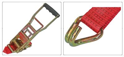 Accessoires sangle à cliquet ergonomique 50 mm et crochet J